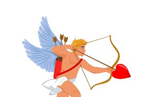 cupid. Valentine's Day