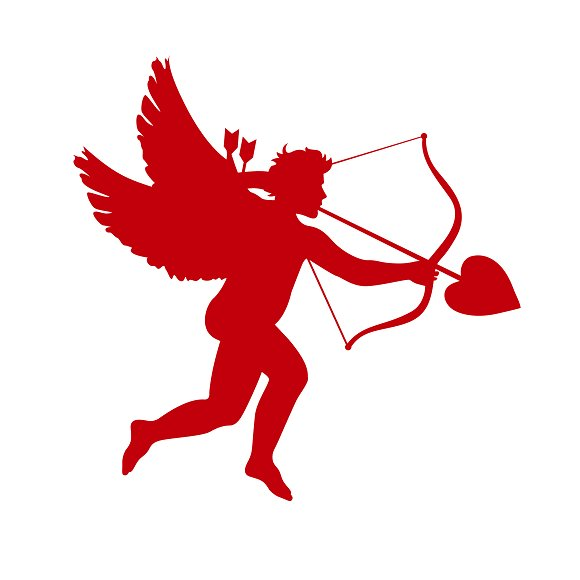 Icon Of Cupid Valentine's Day