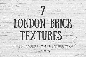 7 London Brick Textures