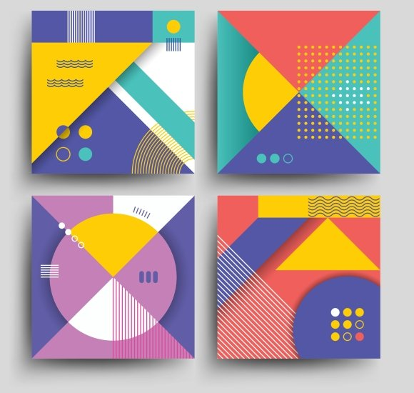 Retro Patterns Cover Designs