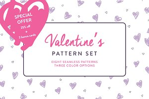 Valentine's Pattern Set