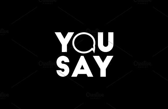 Logo-You Say