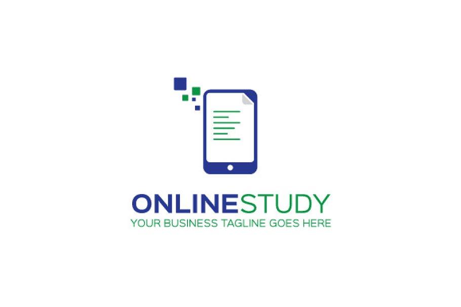 Online Study Logo Template