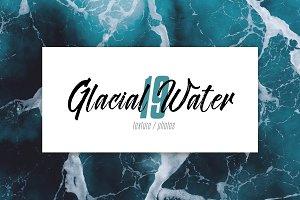 Glacial turbulent water