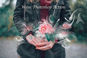 Wave Photoshop Action