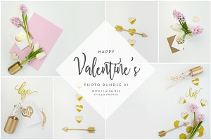 Valentine's Styled Photo Bundle 01