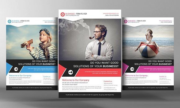 Corporate Business Flyer Template Flyer Templates Creative Market – Business Flyer Templates