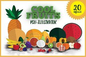 20 cool fruits