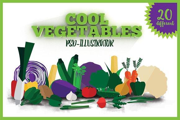 20 Cool Vegetables