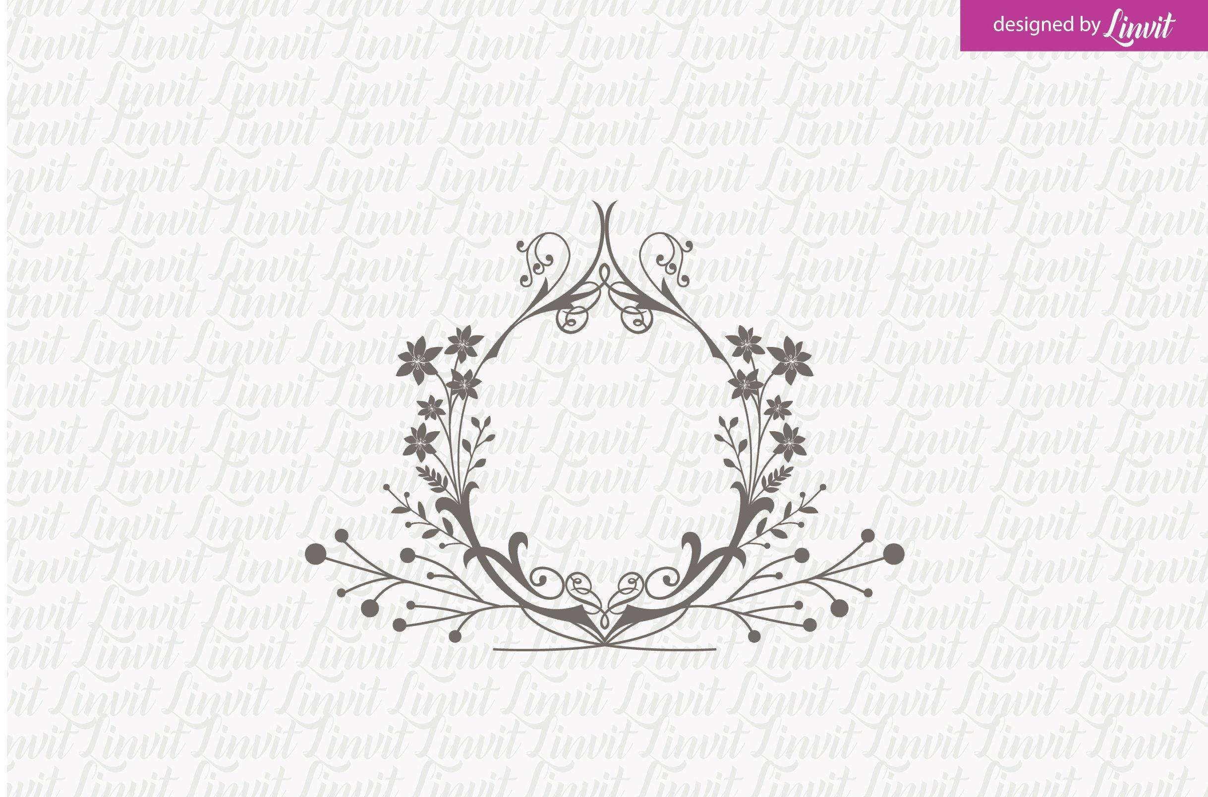 Floral Wedding Logo ~ Logo Templates ~ Creative Market