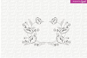 Floral Wedding Logo