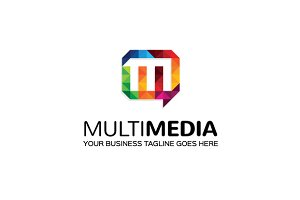 Multimedia Logo Template