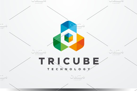 Tri Cube Logo