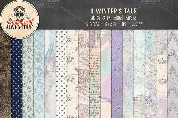 A Winter's Tale Patterns
