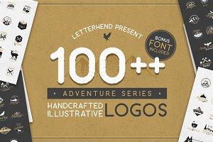 Adventure Logo Bundle 90%OFF!