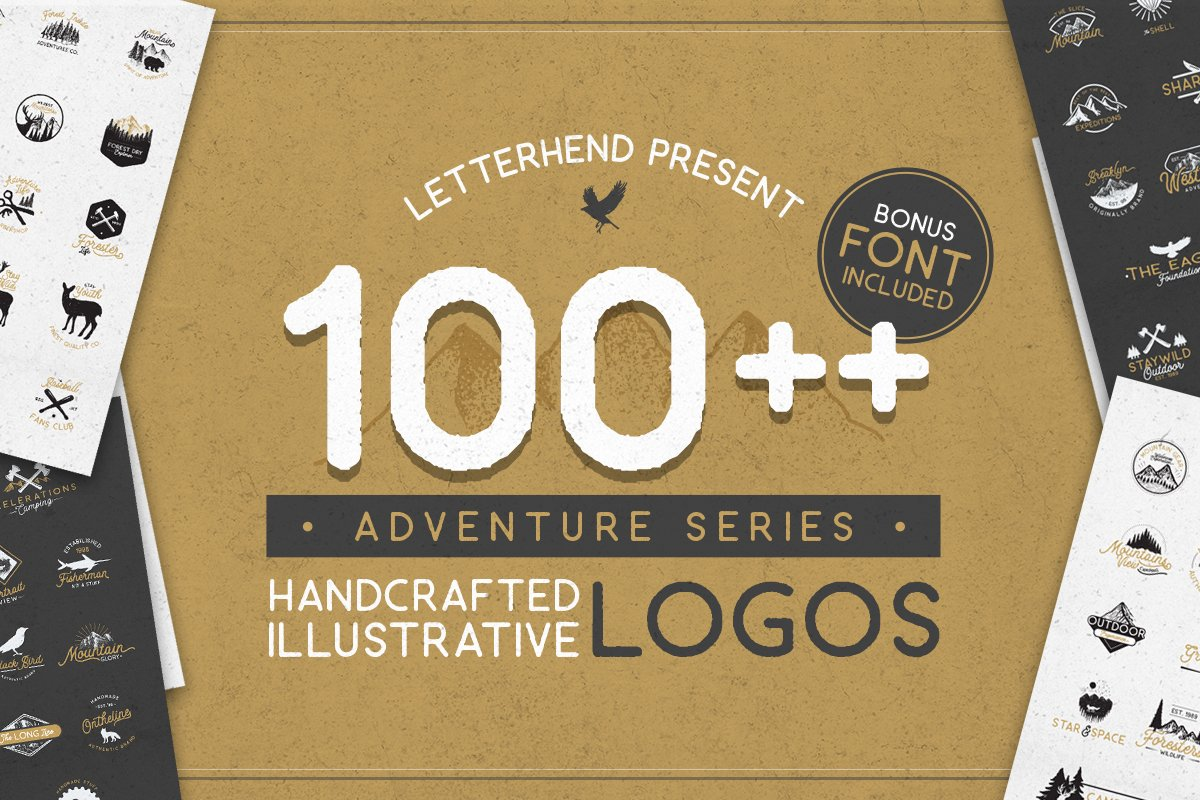70a6928229 Adventure Logo Bundle 90%OFF! ~ Logo Templates ~ Creative Market
