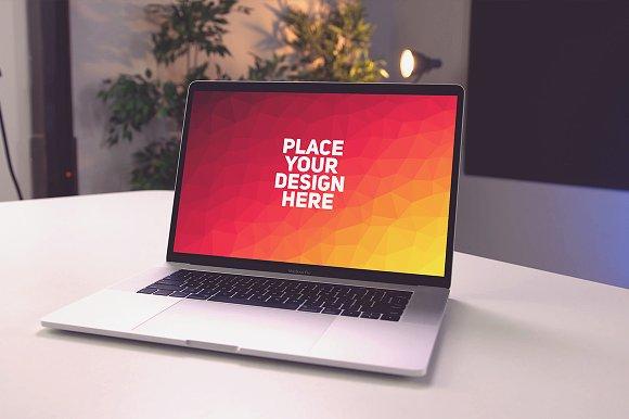 Apple MacBook Mock-up#27