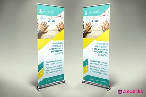 Accounting Roll Up Banner