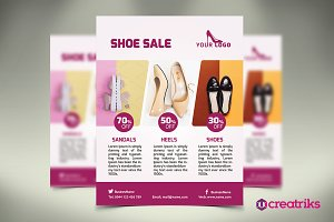 Women Shoes Flyer