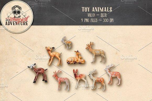 Toy Animals Vol01 Deer