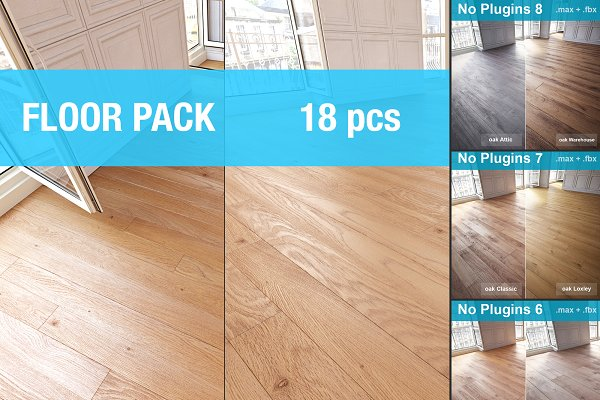 Furniture: soqueen - Parquet Floors WITHOUT PLUGINS