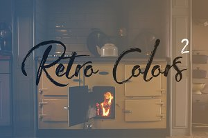 Retro Colors Gradients #2