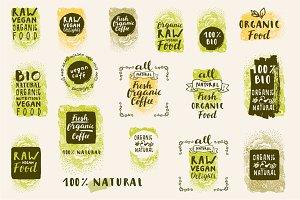 Organic Logo Templates