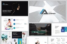 iONE Business Powerpoint Template