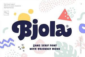 Bjola Sans Serif