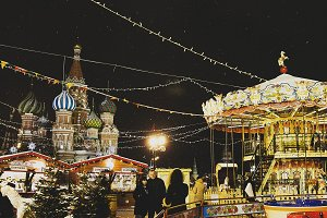 Moscow winter holidays