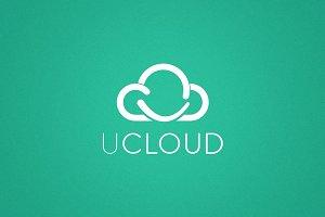 uCloud (Letter U) Logo
