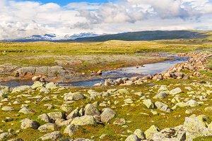 Hardangervidda landscape, Norway