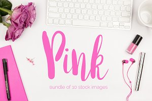 Pink Stock Photo Bundle