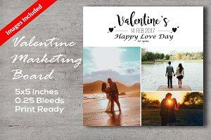Valentine's Marketing Board & Cards