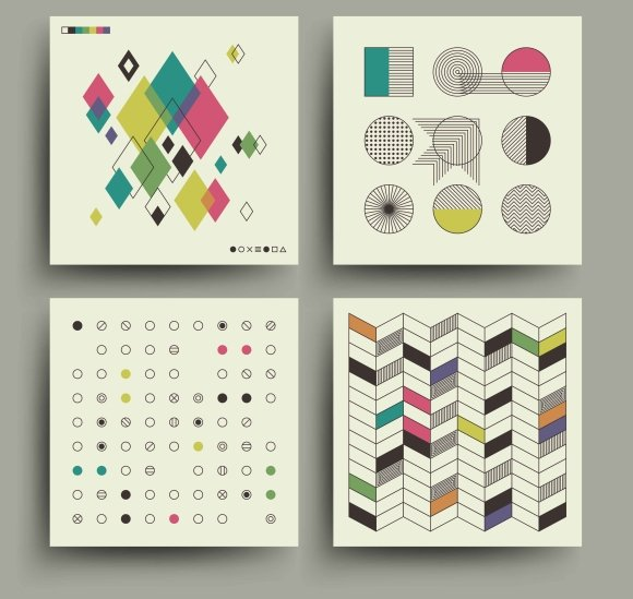 Swiss Modernism Style Trendy Covers