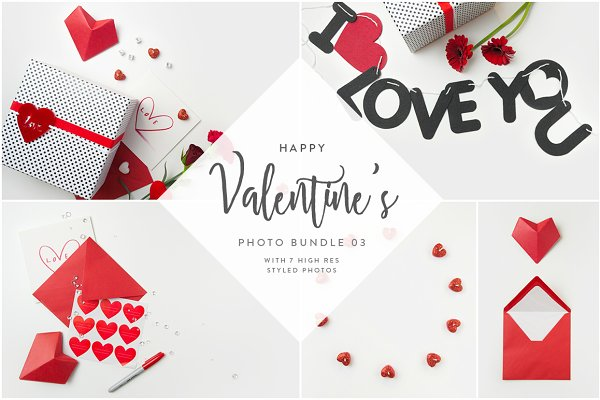 Valentine's Styled Photo Bundle 03
