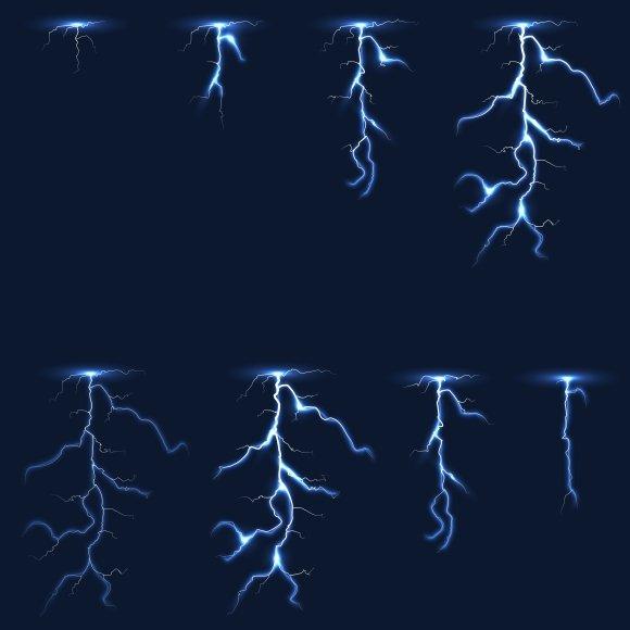 Lightning Animation Frames