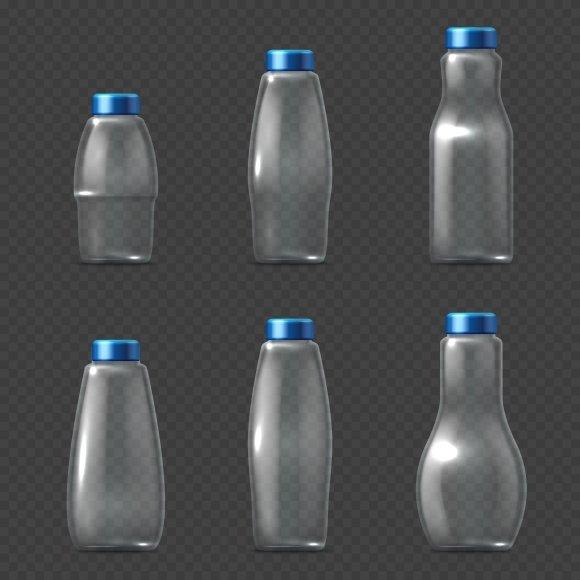 Empty Glassware Fragile Bottles
