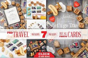 Travel Theme Styled Mockup