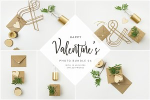 Valentine's Styled Photo Bundle 04