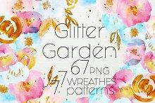 Glitter Garden ultra pack 85 element