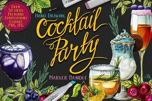 Cocktail Party Marker Bundle