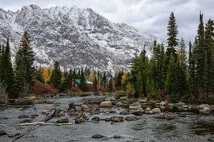 Mountain Stream Late Fall
