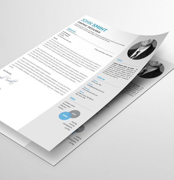 Resume/CV in Resume Templates - product preview 1