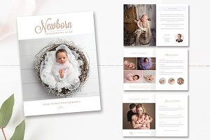 Newborn Photo Magazine INDD