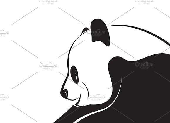 Vector Of A Panda Design