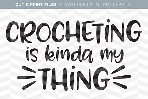 Crocheting SVG Cut/Print Files