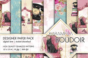 Boudoir Seamless Patterns