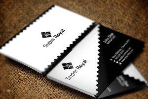 Super Royal Business Card