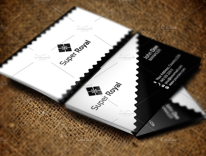 Super royal business card business card templates creative market colourmoves